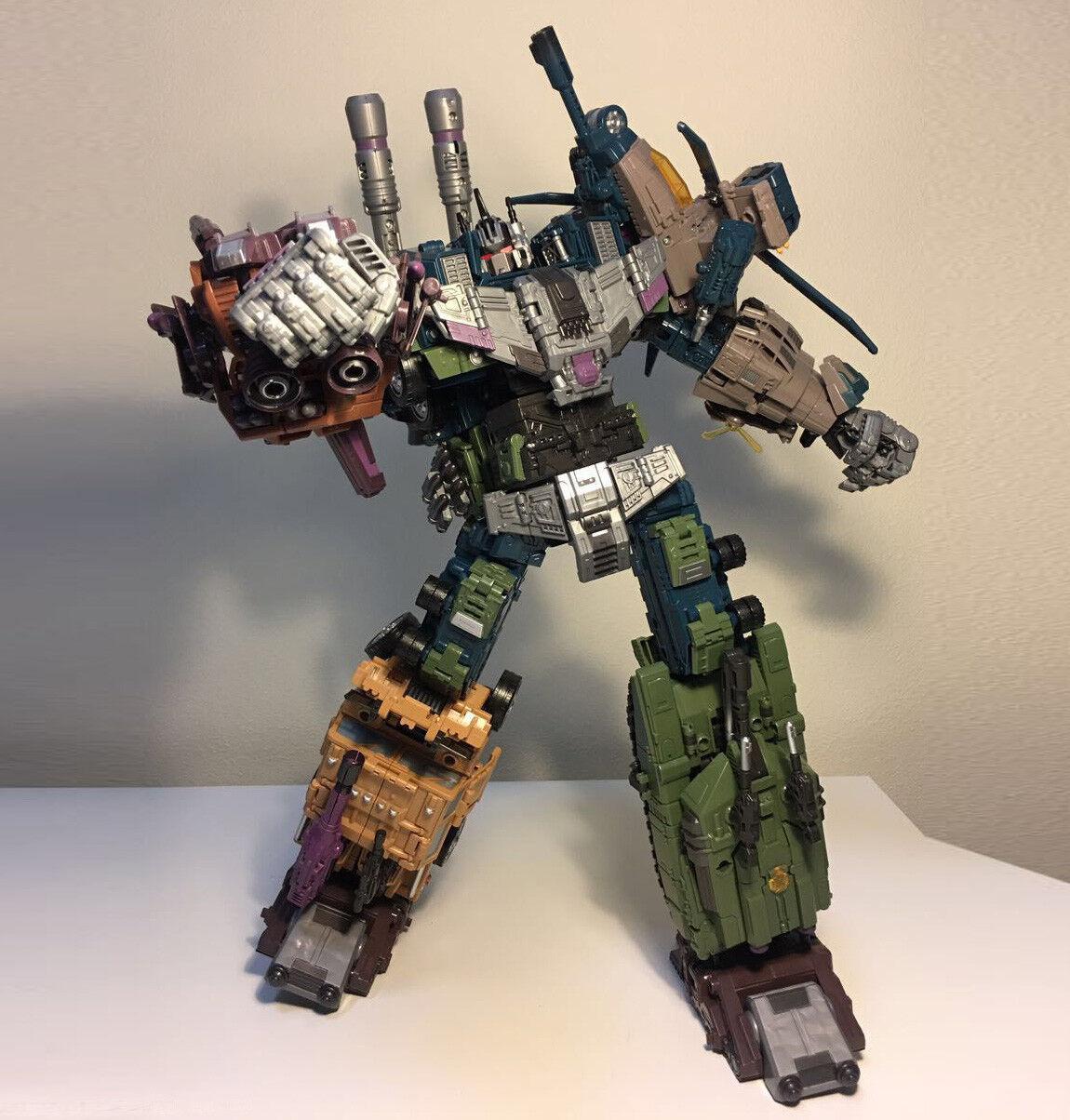 Jinbao k. o überdimensionalen warbotron bruticus roboter decepticons actionfigur junge geschenk