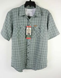 Orvis-Men-039-s-Short-Sleeve-Woven-Tech-Shirt-VARIOUS-COLORS-amp-SIZES