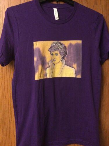 Princess Diana - Purple Shirt.  M.    - image 1