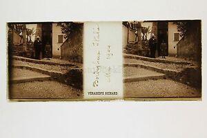 Bordighera-Italia-Italia-Placca-Stereo-Vintage-1904