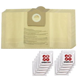Dust Bags x 15 for PARKSIDE LIDL PNTS 30 1300 1400 Vacuum Cleaner Fresh