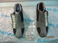 Vintage Alpinestars 401 Grey Shoes. Mtb Atb Size 40. Very Rare Early 90´s.