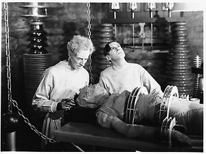 1935 THE BRIDE OF FRANKENSTEIN BLACK AND WHITE 8x10 PHOTO 1aa