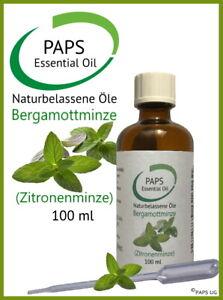 PAPS-Bergamottminze-Zitronenminze-100ml-100-zertifiziertes-aetherisches-Ol
