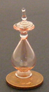 1-12-Scale-Red-Glass-Apothecary-Bottle-Decanter-Dolls-House-Accessory-AR