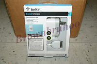 Belkin Swivel Wall Charger F8z630tt04 W/ 4ft Sync Cable For Ipad Iphone Ipod