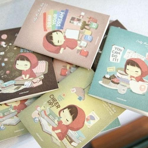 Kawaii!! Notebook Cookyshop Mini Mate Notebook