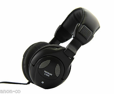 TECSUN E-805 High Quality Stereo Headphone << length: approx. 3.5 meters >>
