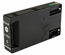 1 Black T7021 non-OEM Ink Cartridge For Epson Pro WP-4545DTWF WP-4595DNF