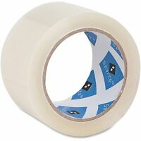 Sparco Products Packaging Tape Roll, 3 Core, 3.0 Mil, 2x55 Yds, 6pk/ct,cl on sale