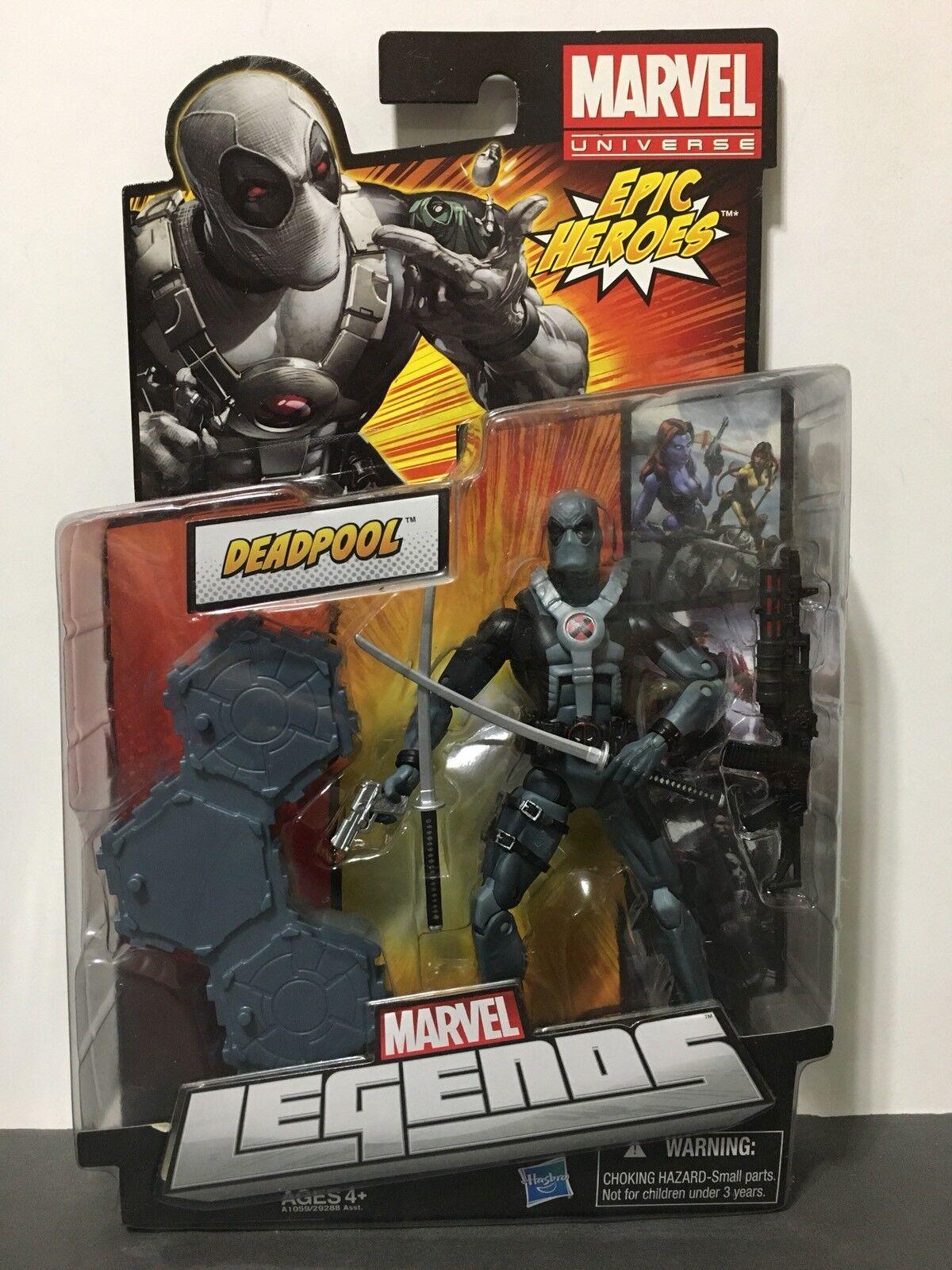 Marvel Legends Epic Heroes X-Force Deadpool 6  Action Figure Hasbro MIP