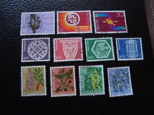 Switzerland-Stamp-Yvert-and-Tellier-N-965-A-975-Obl-A2-Stamp-Switzerland