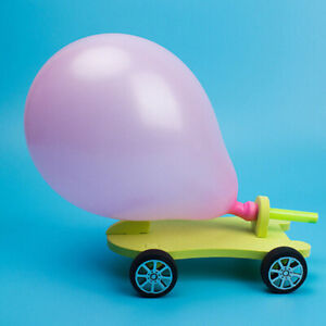 Balloon-Powered-Car-Recoil-Force-Science-Technology-Experiment-Students-Toys-DIY