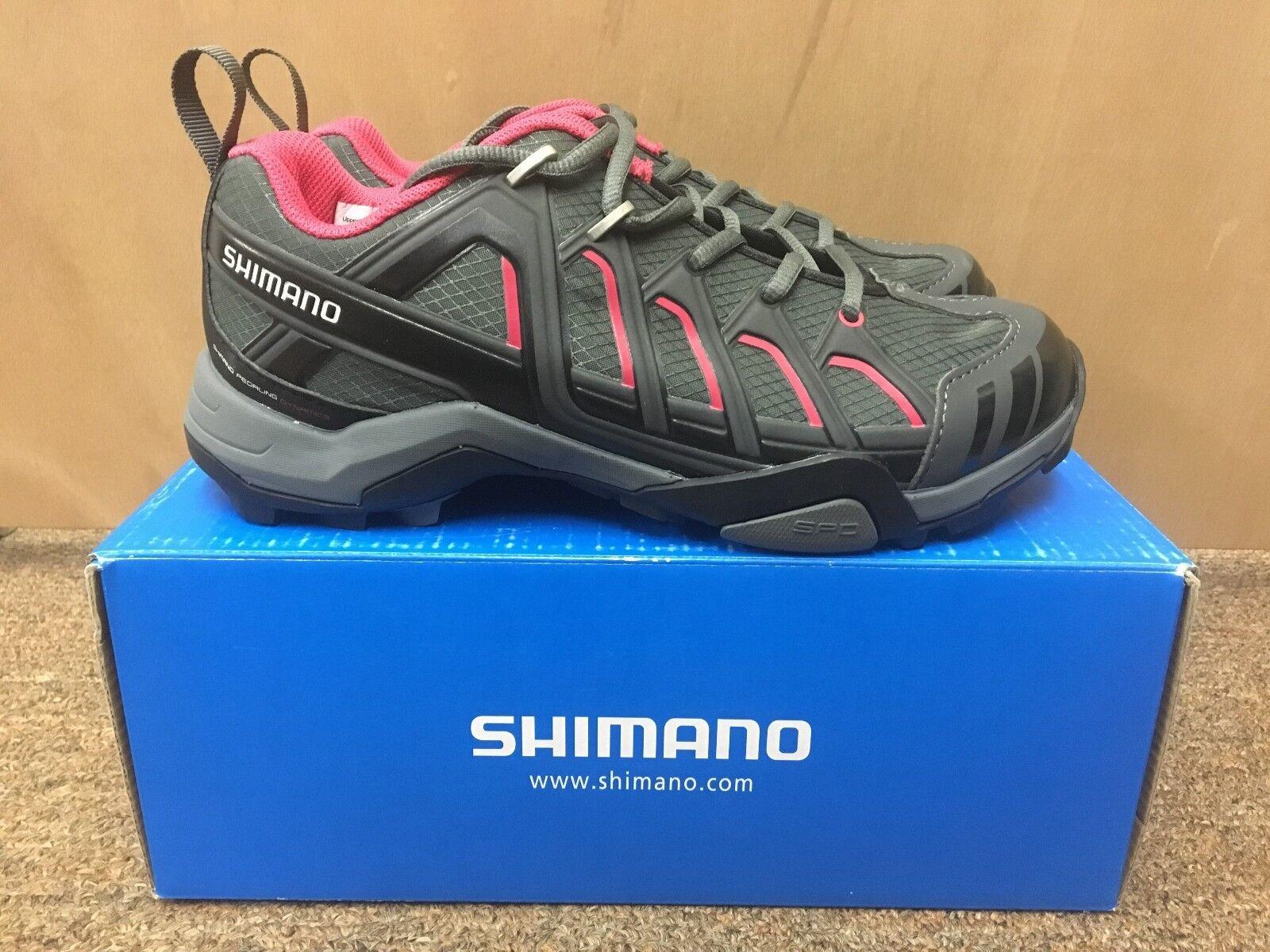 NIB Shimano SH-WM34 MTB schoenen --EU vrouwnen's 38.0 --zwart