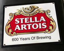Stella Artois Brewery Beer sign