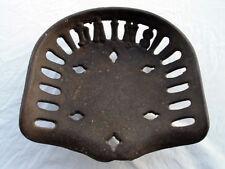 Antique Cast Iron Dains Tractorimplement Seat Guaranteed Original