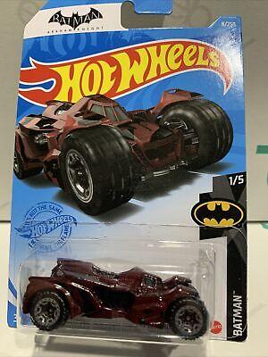 Hot Wheels 2021 A Case Batman Arkham Knight Batmobile #8 Batman Series Lot of 2