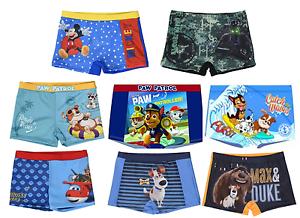 Chicos-con-licencia-oficial-varios-Pantalones-cortos-de-natacion-nadar-tronco-Pantalones-cortos-de