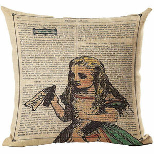Alice-in-Wonderland-Drink-Me-Linen-Square-Cushion-Cover