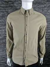 Stone Island Shadow Project 10216 RASO COTTONE Shirt BNWT RRP £195 Size S Green