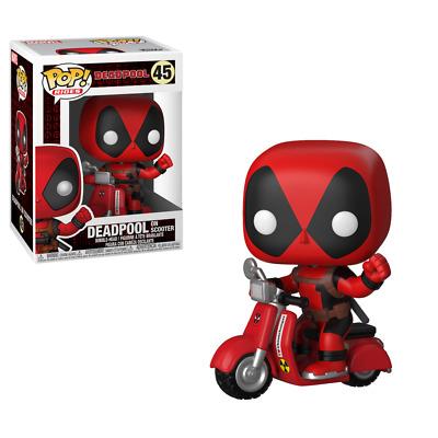 Pop Rides Deadpool 48 Deadpool On Scooter Funko figure 09691