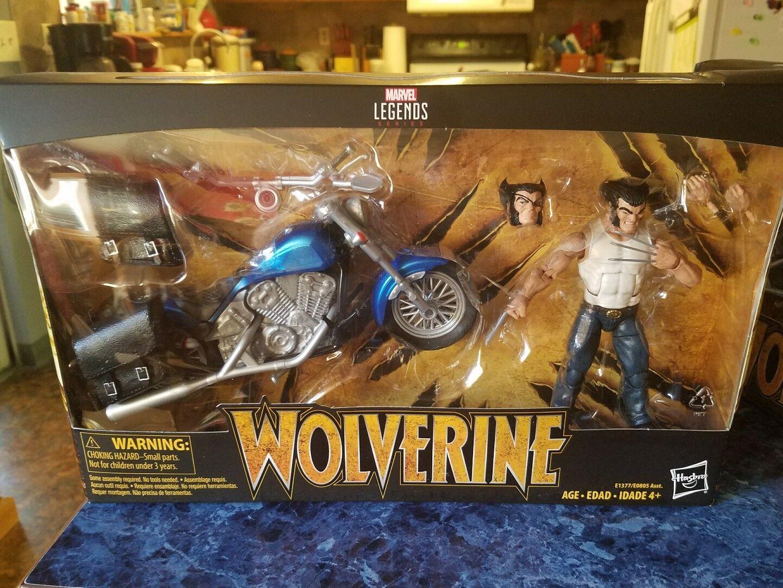Marvel leggende Ultimate Wolverine Con Moto 6 pollici in cifra Set   in magazzino