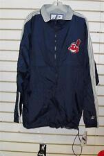 Cleveland Indians jacket coat sz Large windbreaker vintage 90's lightweight jkt