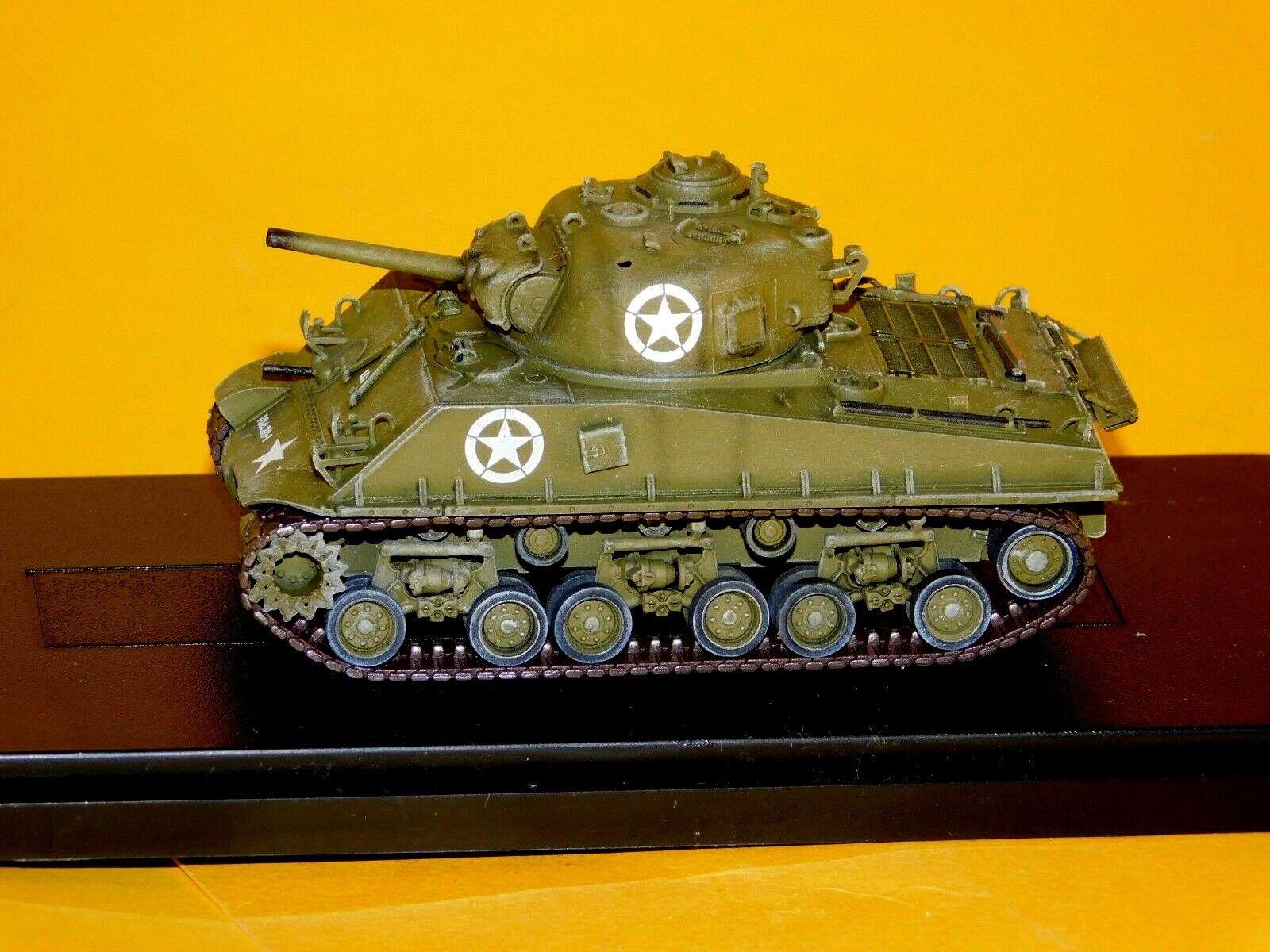 M4A3 Sherman 105mm HVSS, 10th AD., Alemania 1945 armadura de dragón 60316 1 72