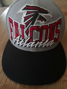Atlanta-Falcons-Big-Logo-NFL-Football-Snapback-Cap-New-Era-9Fifty-Hat-Gray-Black
