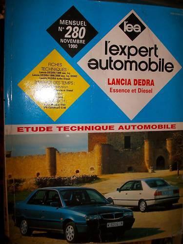 revue technique EA 280 Lancia DEDRA Essence Diesel