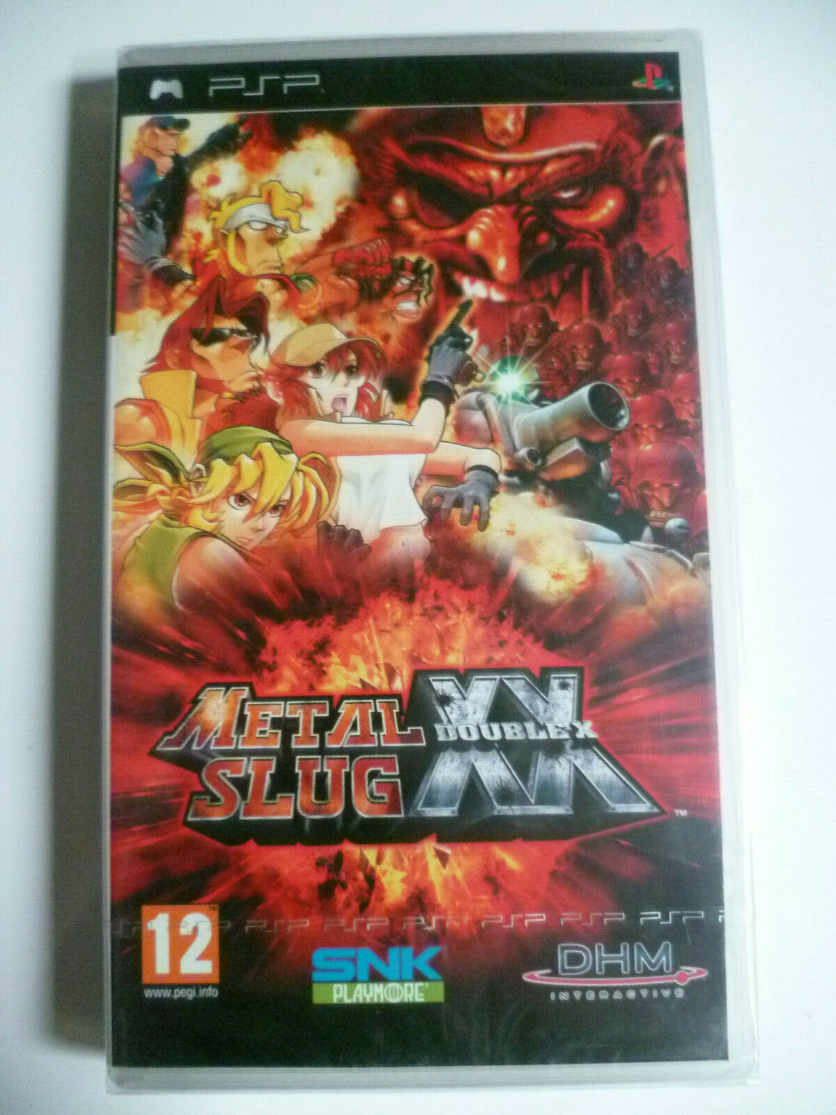 Metal Slug XX Double X Euro PSP New Sealed Rare Neuf