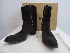 Car Shoe by Prada Cowboy Stiefeletten Boots Dunkelbraun Wildleder Gr.40 TOP