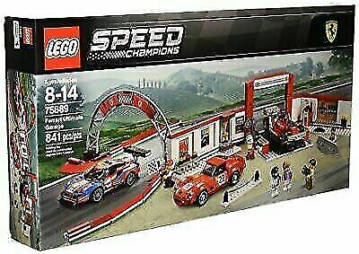NEW LEGO Speed Champions 841 Piece Ferrari Ultimate Garage Building Kit for Kids