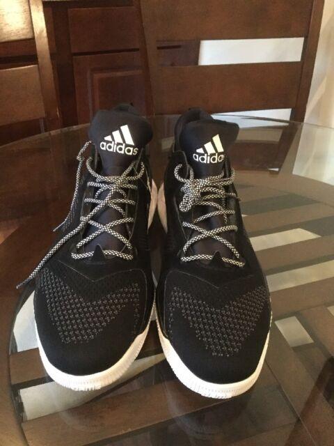 wholesale dealer 15583 70c91 Adidas D Lillard SM NBA 2 PK - Size 19 - Black Grey  B38889