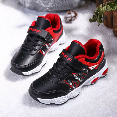 Trainers Running Kids Boys Girls Gym Sports Shock Childrens Casual School Shoes