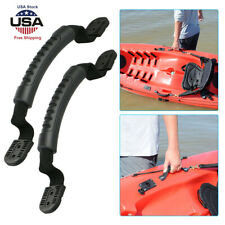 4//2x Rubber Boat Luggage Side Mount Carry Handles Fitting for Kayak Canoe Boat