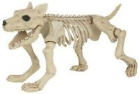 groß Gruseliges Skelett HUND 28cm Hoch Halloween Party Dekoration Requisite