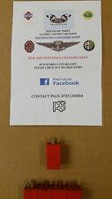 FORD ESCORT ORION FIESTA SIERRA WIPER INTERMITTENT RELAY 68125 RED 4 PIN