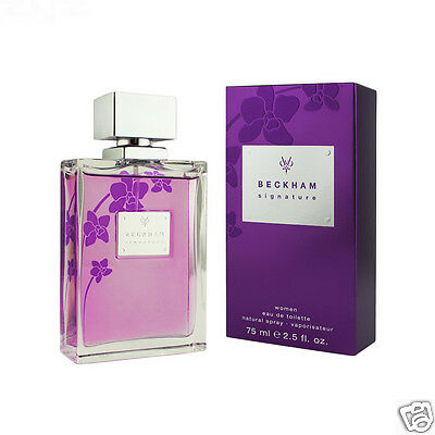 David Beckham Signature for Her Eau De Toilette 75 ml (woman)