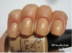 Details about OPI Nail Polish Lacquer Vanilla zuela 15ML HT4