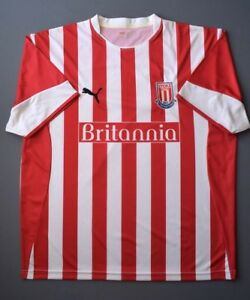 b1524f909c176 4.6 5 STOKE CITY 2005-2006 FOOTBALL SOCCER HOME SHIRT JERSEY PUMA ...