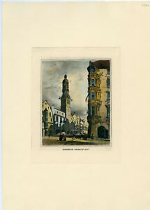 There are 6 major benefits 5 Antique 1800s Hand Colored