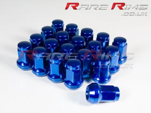 20 x Bleu Hex écrous de roue M12x1.25 pour Subaru Impreza Forester Legacy
