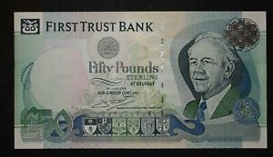 FIRST TRUST BANK XF CONDITION. NORTHERN IRELAND 20 POUNDS 2009  P NEW