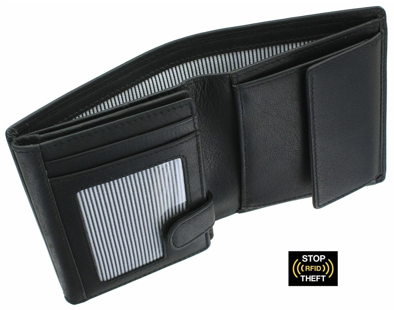 Kalmin Shaftsbury Collection Leather Wallet RFID Blocking 1020_30