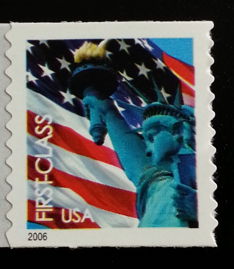 2006 39c Statue of Liberty & Flag, Coil Scott 3969 Mint