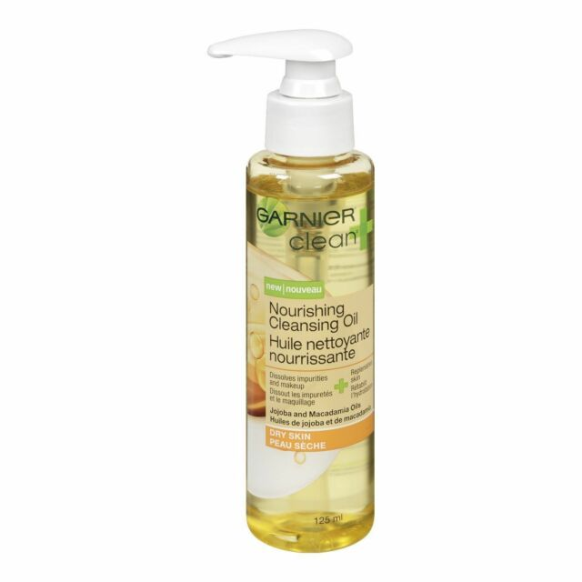 Garnier Clean+ Cleansing Oil Nourishing 4.2oz Pump (3 Pack) 3 Pack - Simple Sensitive Skin Experts Oil Balancing Cleansing Wipes 25 ea
