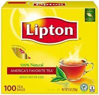 Lipton Tea, 100 Ct (pack Of 12)