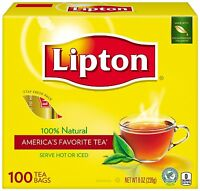 Lipton Tea, 100 Ct (pack Of 12) + Makeup Sponge