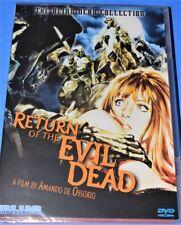 Return of the Blind Dead (DVD, 2006)